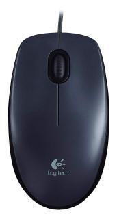 Logitech M90 USB Mouse (Dark Grey)