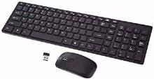 rivansh RV-121-02 Wireless Multi-device Keyboard(Black)