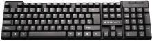 Zebronics ZEB-K16 Wired USB Multi-device Keyboard(Black)