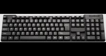 RNC PROLITA FLOATER Wired USB Multi-device Keyboard(Black)