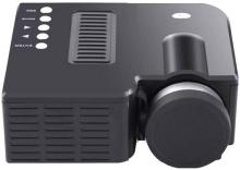 Un-Tech Portable UC-28 Projector with USB and Inbuilt Speaker Portable Projector(Black)