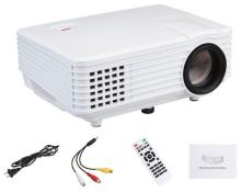Samyu Rd 805 Mini Home Entertainment Multimedia Projector Lcd Svga Projector