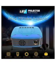 Super Screen 1080P HD Home MulitMedia Theater Cinema USB TV HDMI Mini Projector