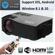 UNIC UC36 WIFI Portable LED Video Home Cinema Projector
