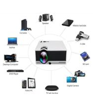 UNIC UNIC 1200LM 40000HRS LAMP LIFE WITH WIFI FULL HD ENTERTAINMENT LED PROJECTOR WITH SPEAKER LED Projector 1024x768 Pixels (XGA)