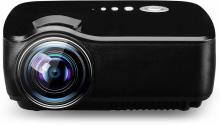 Style Maniac Smart LED 1080p Mini Portable Full HD Portable Projector(Black)