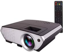 Zeom S3A Android 4.4 WiFi 3000 3D LED Portable Projector Projector(Black)