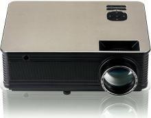 LAZERVISION LV405 FULL HD 1920*1080, USB VGA 5000 Lumens LED Projector Projector(GOLDEN+BLACK)