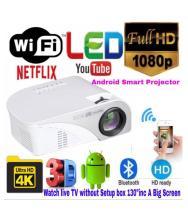 Omex SMART ANDROID HD LED Projector 1024x768 Pixels (XGA)