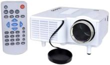 METSTYLE RD-801 LED Projector Portable Projector(White)
