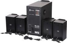 T-Series M-4444BT 4.1 Channel Bluetooth Multimedia Speaker System (Black) 40 W Bluetooth Home Theatre(Black, 4.1 Channel)