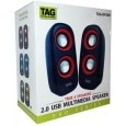 TAG DP-200 2 Channel Multimedia Speakers