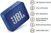 JBL GO 2 Portable Bluetooth Speaker ( Blue )