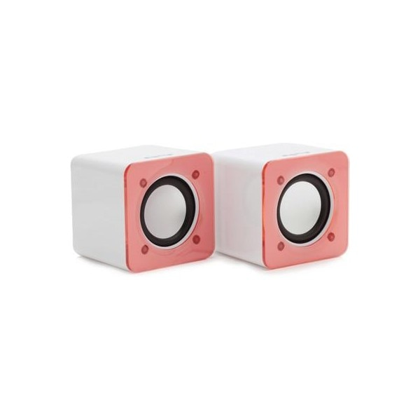 DigiFlip PS012 HQ Bass Wired Mini USB Speaker (Red, 2 C... Price in ...